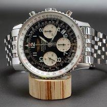 Breitling Navitimer Chronometer Chronograph mit Stahlband [on...