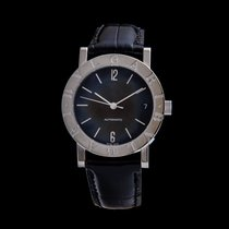 Bulgari Bulgari White gold 33mm Black