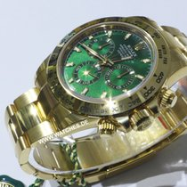 Rolex Daytona Cosmograph Green Dial Yellow Gold - 116508
