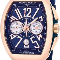 Franck Muller Rose gold 44mm Automatic V45CCDTYACHTING5N new