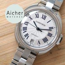 Cartier Clé de Cartier Steel 35mm Silver Roman numerals