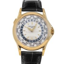 Patek Philippe World Time Yellow gold 37mm Silver No numerals United States of America, Maryland, Baltimore, MD