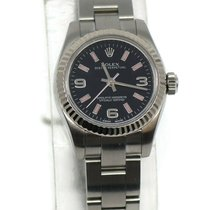 Rolex Oyster Perpetual 26 Steel 26mm Black Arabic numerals United States of America, New York, New York