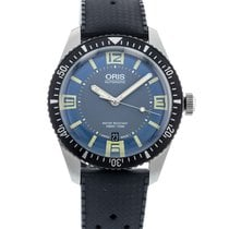 Oris Steel Automatic Grey 40mm pre-owned Divers