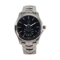 TAG Heuer Link Calibre 6 Steel 38mm Black