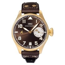 IWC Big Pilot Rose gold 46mm Brown Arabic numerals United States of America, Florida, Surfside