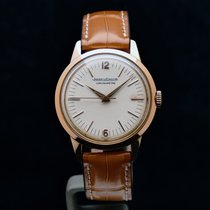 Jaeger-LeCoultre Geophysic 1958 pre-owned 35mm White Crocodile skin