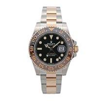 Rolex GMT-Master II Gold/Steel 40mm Black No numerals United States of America, New York, New York