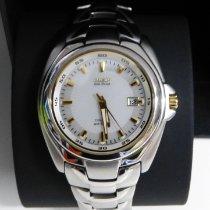 Citizen pre-owned Quartz 40mm Silver Sapphire crystal