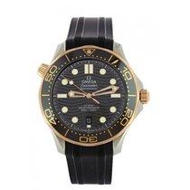 Omega Seamaster Diver 300 M 210.22.42.20.01.002 Unworn Gold/Steel 42mm Automatic
