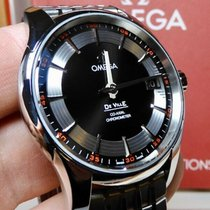 Omega De Ville Hour Vision Steel 41mm Black United States of America, North Carolina, Winston Salem
