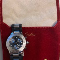 Cartier 21 Chronoscaph 2424 2000 pre-owned