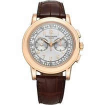 Patek Philippe Chronograph Rose gold 42mm Silver United States of America, Florida, 33431
