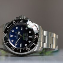 Rolex DEEPSEA D Blue 116660 unworn full set