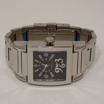 De Grisogono Instrumentino Steel 50mm Black Arabic numerals