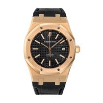 Audemars Piguet Royal Oak Selfwinding Rose gold 39mm Black No numerals United States of America, New York, New York