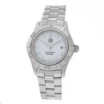 TAG Heuer Ladies  Aquaracer WAF1415 Steel MOP Diamond Quartz