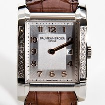 보메  메르시에 Hampton Rectangular Hampton Rectangular Ladies Diamonds