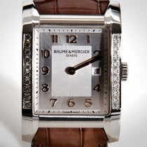 Baume & Mercier Hampton Otel 38mm Argint Arabic