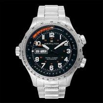 Hamilton H77755133 Acier Khaki X-Wind 45mm nouveau