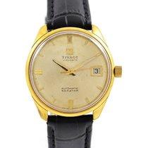 Tissot Seastar Visodate Gold Plated Automatic Watch