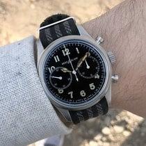 Montblanc 1858 new 2020 Automatic Chronograph Watch with original box and original papers 117835 Montblanc 1858 Automatico Cronografo Nero Grigio