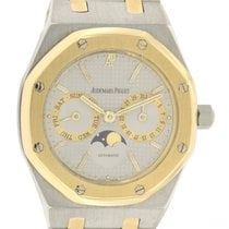 Audemars Piguet Royal Oak Day-Date Gold/Stahl 36mm Grau