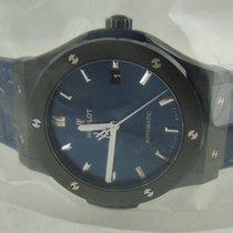 Hublot Ceramic Automatic Blue No numerals 45mm new Classic Fusion Blue