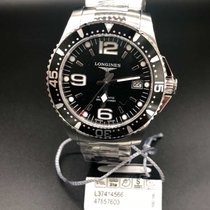 浪琴 HydroConquest 39mm Automatic Black Dial L3.741.4.56.6