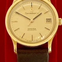 Omega Geelgoud 33mm Automatisch omega 166.052 tweedehands