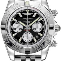 Breitling Chronomat 44 new Automatic Chronograph Watch with original box and original papers AB011012/B967/375A