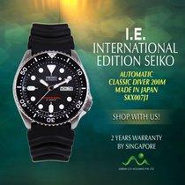 Seiko SKX007J1 Aço Prospex 42mm novo