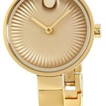 Movado Edge Geelgoud 28mm Goud