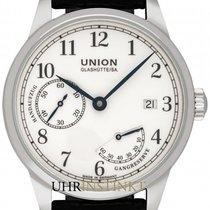 Union Glashütte 1893 Otel 41mm Alb