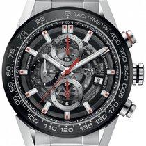 TAG Heuer Carrera Calibre HEUER 01 new 2019 Automatic Chronograph Watch with original box and original papers CAR201V.BA0766