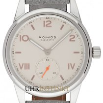 NOMOS Club Campus 709 New Steel 36mm Manual winding