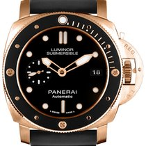 Panerai Luminor Submersible 1950 3 Days Automatic Rose gold 42mm Black No numerals United States of America, Georgia, Alpharetta