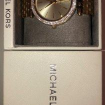 Michael Kors gebraucht Handaufzug 39mm Gold Mineralglas 5 ATM