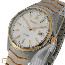 Ebel Wave Gold/Steel 40mm Silver