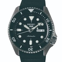 Seiko 5 Sports Steel Black