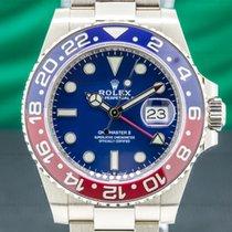 Rolex GMT-Master II White gold 40mm Blue Arabic numerals