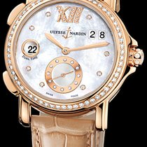 Ulysse Nardin Dual Time Rose gold 37mm Mother of pearl