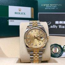 Rolex Cally - 116233J Datejust 36 SS / YG Champagne J Diamond
