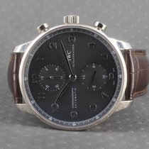 IWC 371413 White gold 2007 Portuguese Chronograph 41mm pre-owned