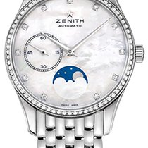 Zenith Elite Ultra Thin Steel 33mm Mother of pearl United States of America, New York, Airmont