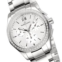 Maurice Lacroix Miros Steel 39mm Silver (solid) No numerals