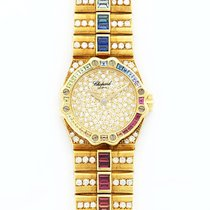Chopard 25/4334-24 St. Moritz in Yellow Gold With Diamond...