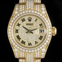 Rolex Datejust Diamond Set Gold NOS 179458