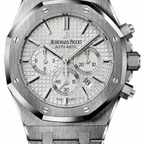 Audemars Piguet Royal Oak Chrono White Dial - 26320st