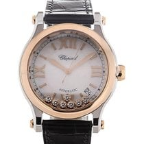 Chopard Happy Sport Gold/Steel 36mm Mother of pearl